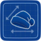 Blueprint Santa Hat icon