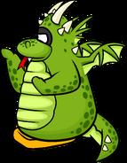 CJ power card green dragon