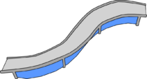S-Curve Ramp furniture icon