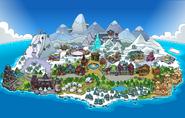 Mapa Frozen Fiebre Congelada