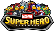 Marvel Super Hero Takeover Logo