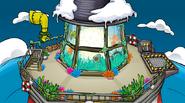Mirador en la fiesta submarina