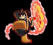 Ninja-fuego