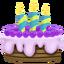Pastel de Cumpleaños Icono