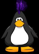 Peinado Punk Violeta carta