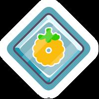 Pin de Puffito Dorado icono