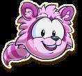 Pink raccoon selected