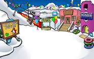 Puffle Party 2009 Ski Village
