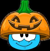 Pumpkin Lid in Puffle Interface