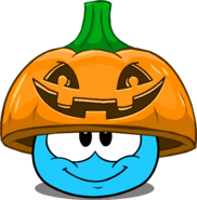 Pumpkin Lid in Puffle Interface