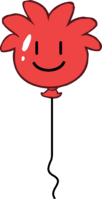 Red Puffle Balloon icon