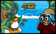 Adventure Party login screen 2