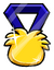 Club Penguin Pin - Pin de Medalla Pufflística