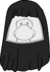 Peinado de la Chica Monocromatica