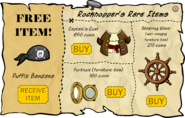 Rockhopper's Rare Items April 2007