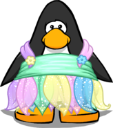 Faery Costume on Player Card