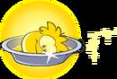 Gold Puffle Bath