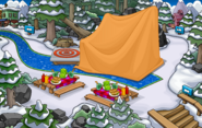 Bosque Fiesta de la Isla de Club Penguin