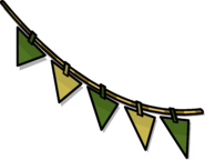 Green Triangle Pennants sprite 003