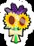 Pin de Ramo de Flores icono