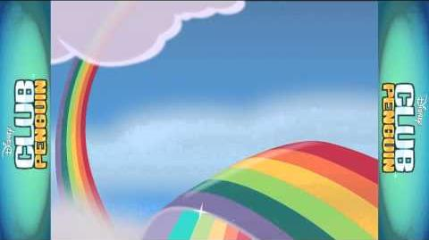 Rainbow Puffle On Disney Channel