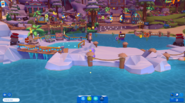 Waddle On Party Boardwalk icebergs 1
