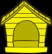 Yellow Puffle House sprite 001