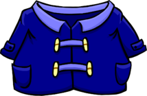 Blue Duffle Coat clothing icon ID 219