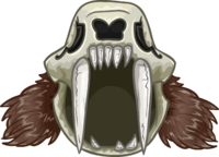 Casco Dientes de Sable icono