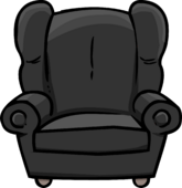 Plush Gray Chair