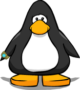 Puffle Watch on a Player Card