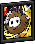 Brown Puffle Picture sprite 001