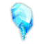 Collectible ice crystal