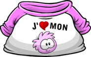 I Heart My Pink Puffle T-Shirt icon fr