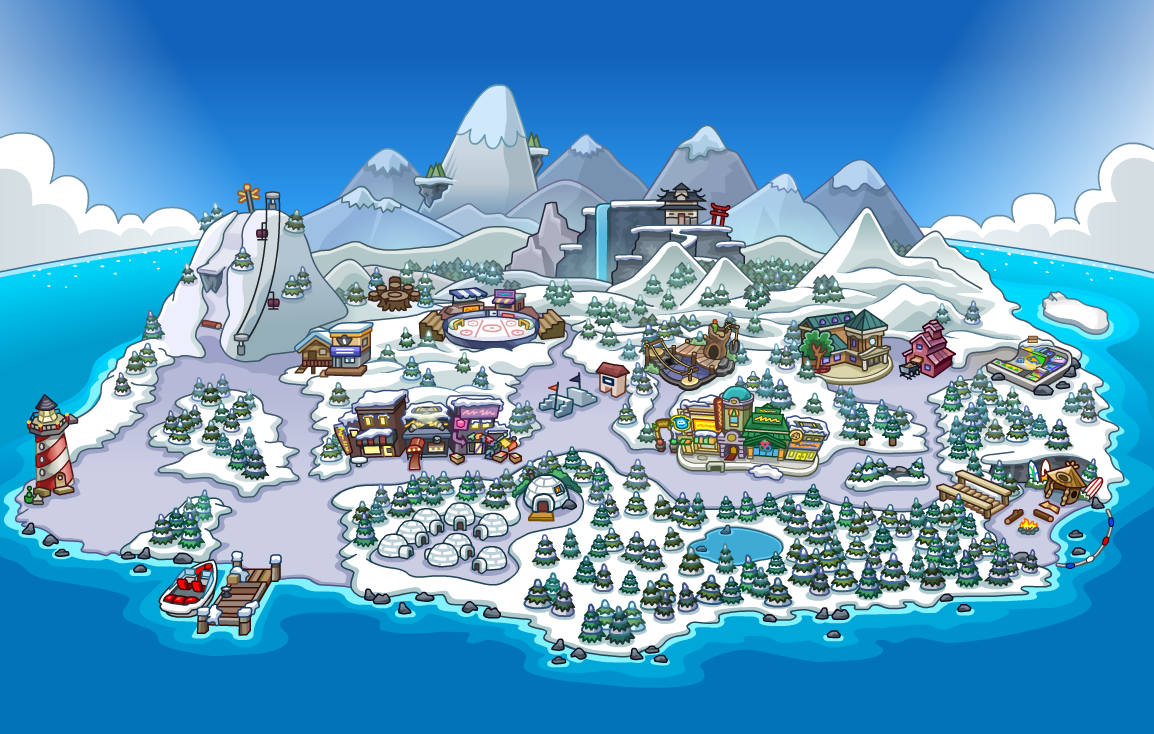 Club Penguin Map Map | Club Penguin Wiki | FANDOM powered by Wikia