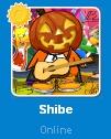 Shibe conectado en la Lista de Amigos