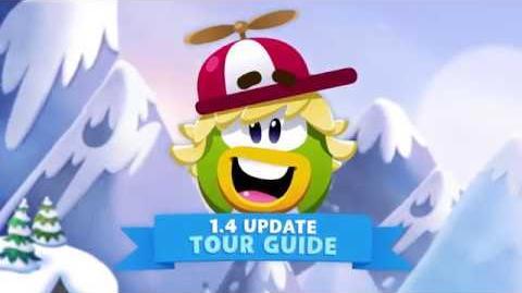Update 1.4 Has Arrived! Disney Club Penguin Island