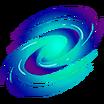 Vórtice Espacial Calcomanía