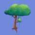 Árbol de Selva Icono