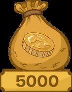 5000CoinsBagOperationPuffleInterface