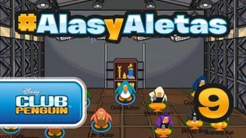 Alasyaletas - Episodio 9 Club Penguin oficial