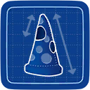 Blueprint Pizza Costume icon