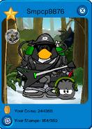 Dark warrior outfit