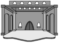 Grey Ice Castle igloo icon ID 33