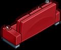 Red Designer Couch sprite 016
