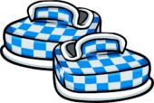 Blue Checkered Shoes icon