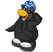 Custom penguin dude