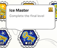 Ice master PS stamp book