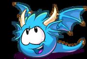Puffle dragon celeste parte parte