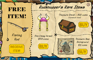 Rockhopper's Rare Items July 2007